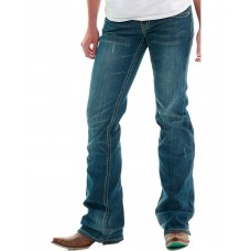 Cowgirl Tuff Women's Don't Fence Me In Jeans Women Regular Jeans business casual BDQYC6461